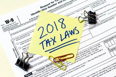 2018 Tax Laws