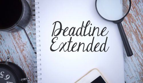 Federal individual tax filing deadline extended